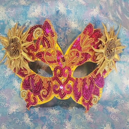 Solstice Butterfly Venetian Mask