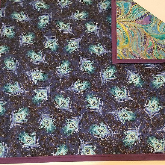 Peacock Reversible Altar Cloth