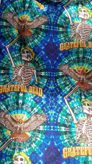 Tie Dye Grateful Dead Mask