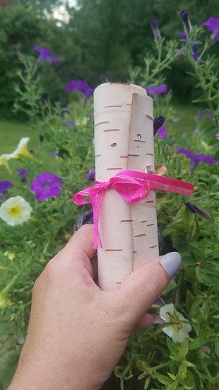 Birch Bark Scroll Medium -Common