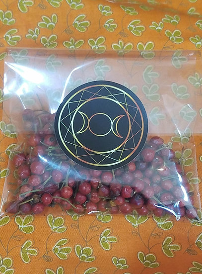 Dried Rosehips for Cauldrons