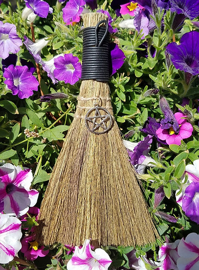 Small Witch's Pentacle Besom