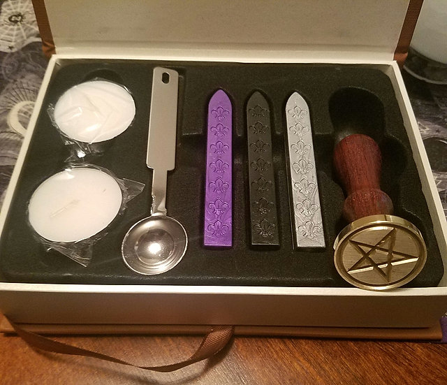Pentacle Wax Seal Gift Box