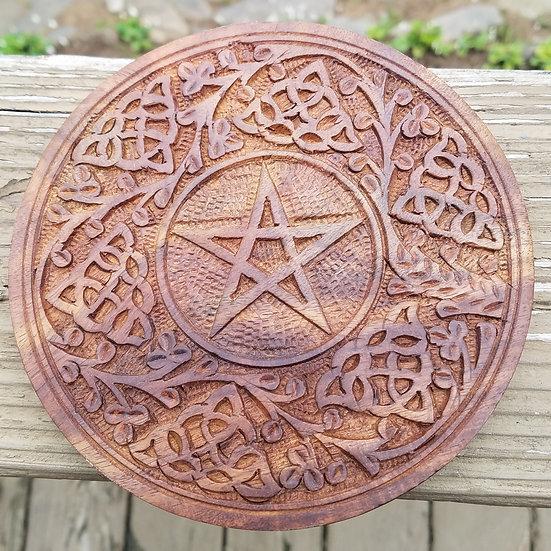 """Wood Altar Tile 6"""""""