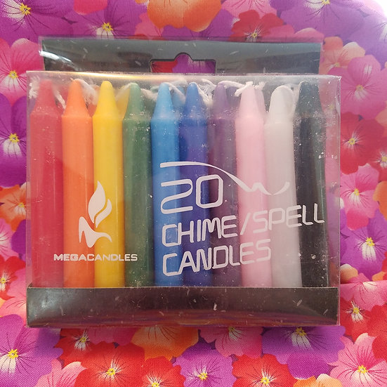 Pack of 20 Chime Candles