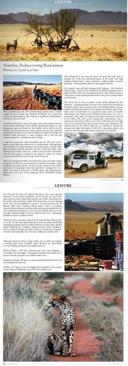 Aspect County, UK - Sossusvlie, Namibia