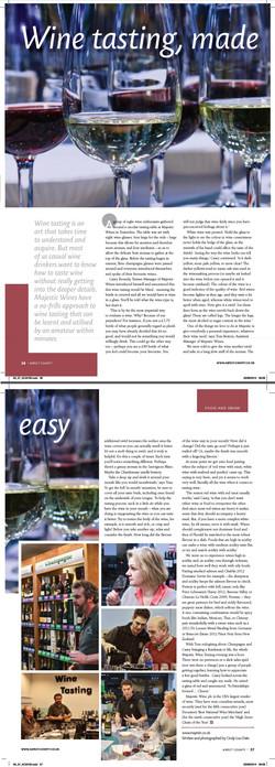 Aspect County, UK - Majestic Wine Class