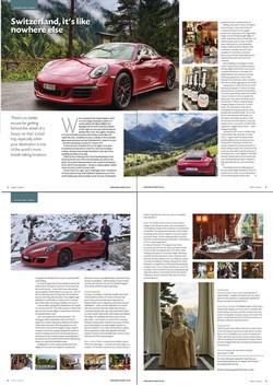 Aspect County, UK - Swizterland Porsche Carrera GTS