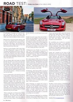 Aspect County, UK - Flanders Mercedes Benz SLS AMG