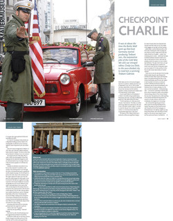 Aspect County, UK - Check Point Charlie