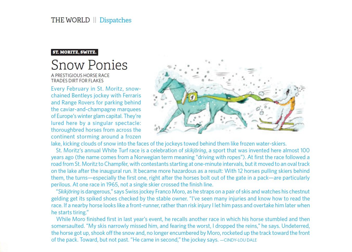 Hemispheres Inflight, USA - St Moritz