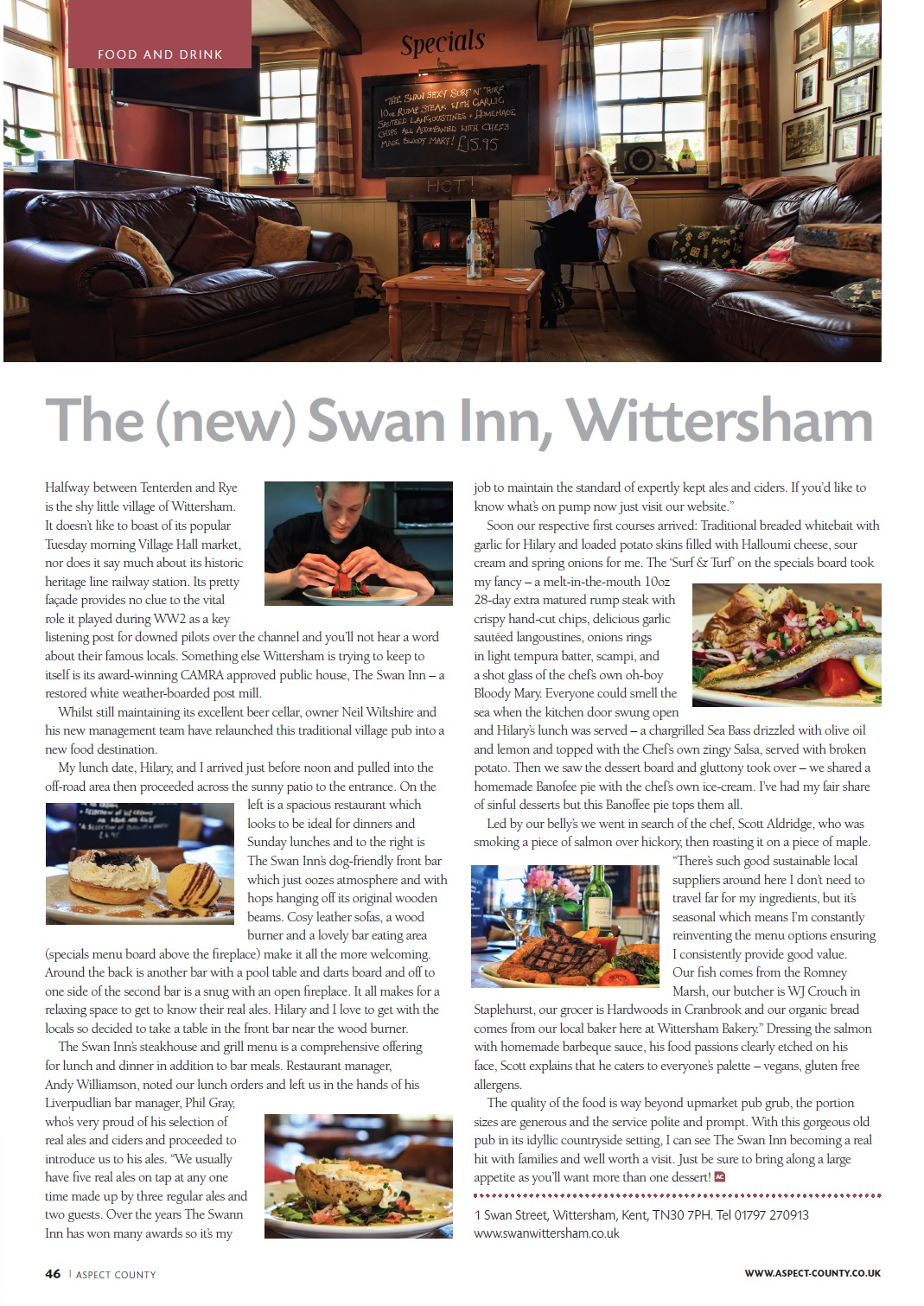 Aspect County, UK - Swan Inn Wittersham