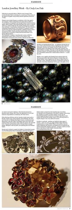 Aspect London, UK - Jewellery Week