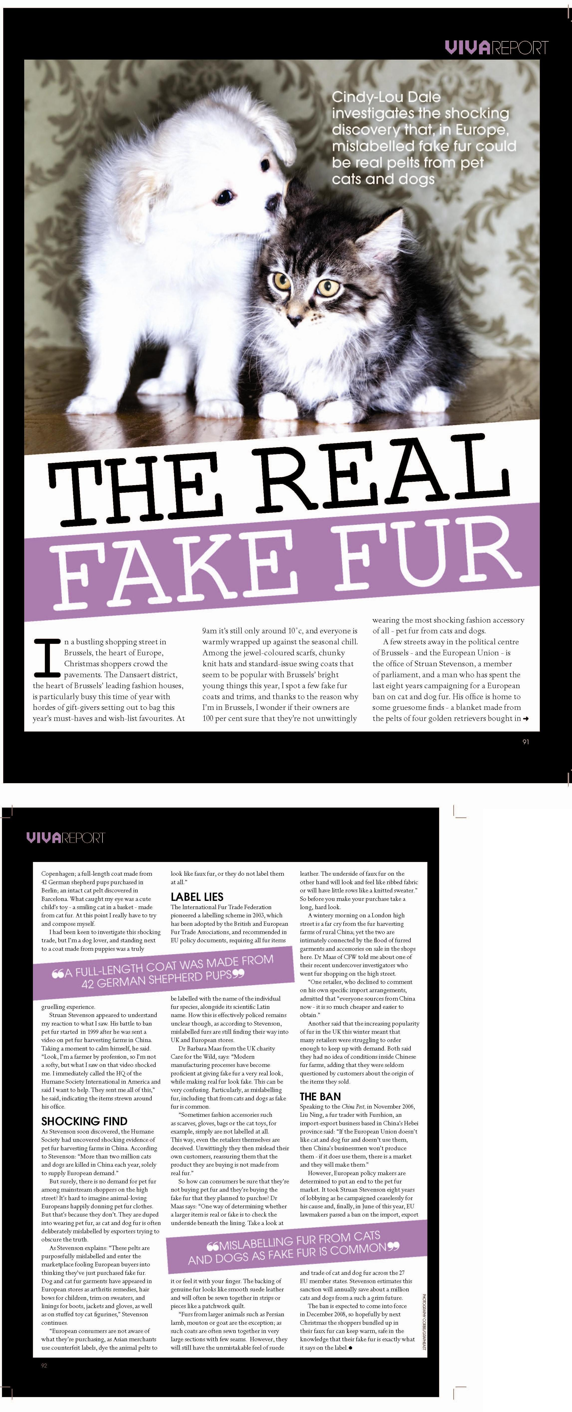 Viva, UAE - Fake Fur
