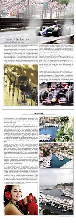 Aspect County, UK - MOnaco Grand Prix