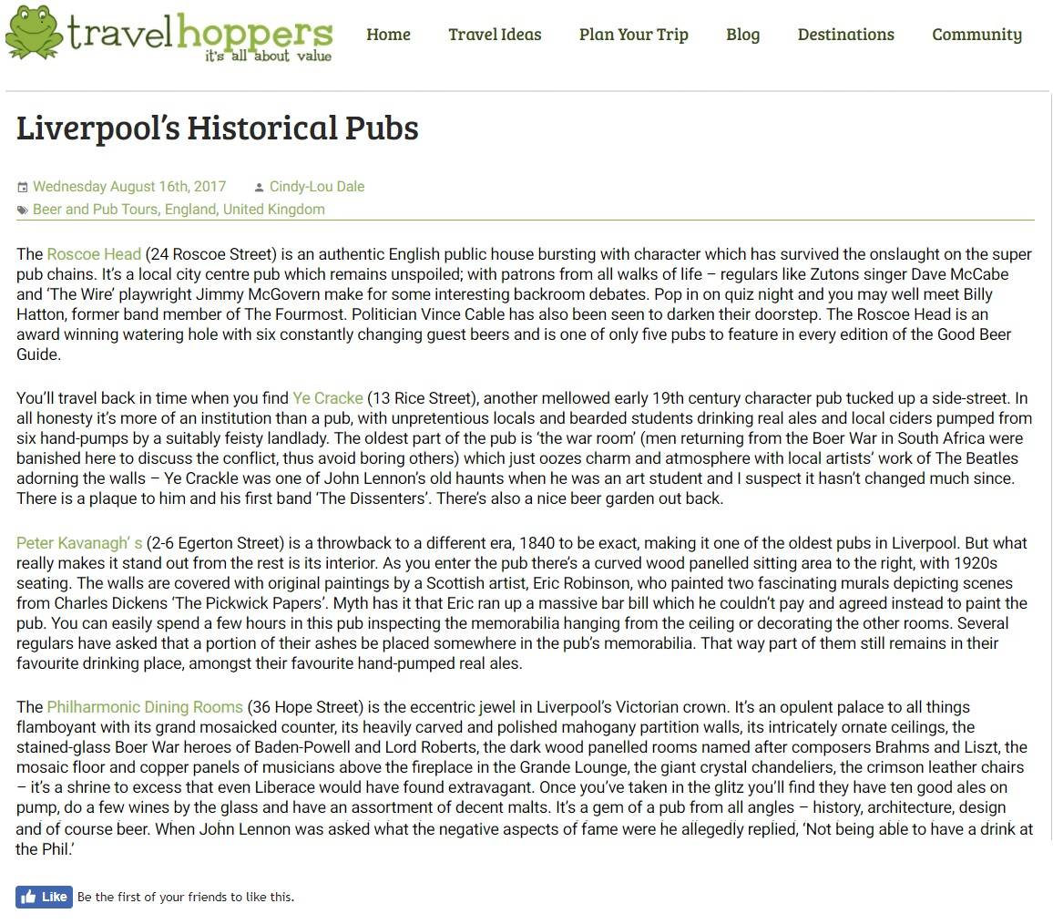 Travel Hoppers (USA)
