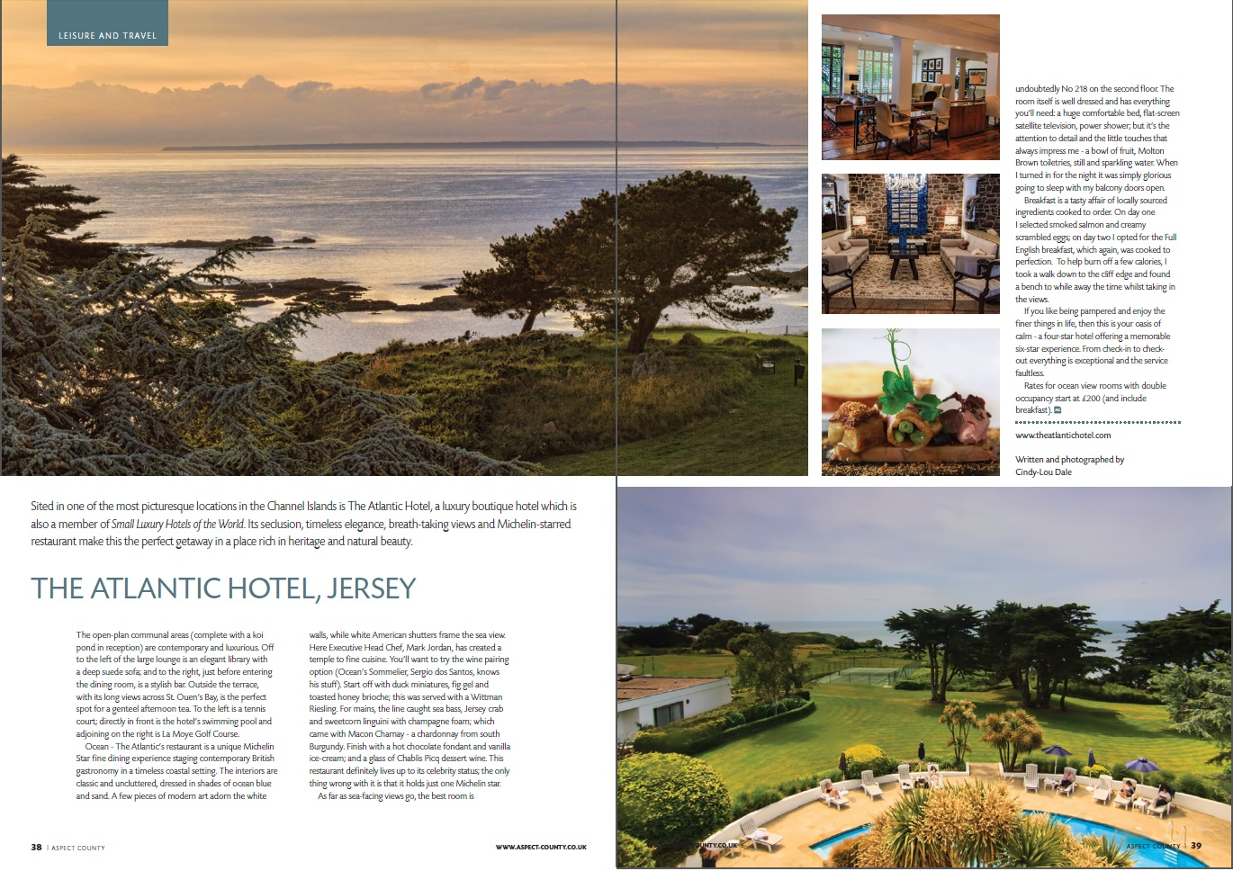 Aspect County, UK - Jersey Atlantic Hotel