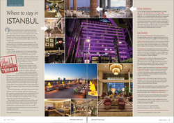 Aspect County, UK - Marti Hotel, Tugra Restaurant, Istanbul