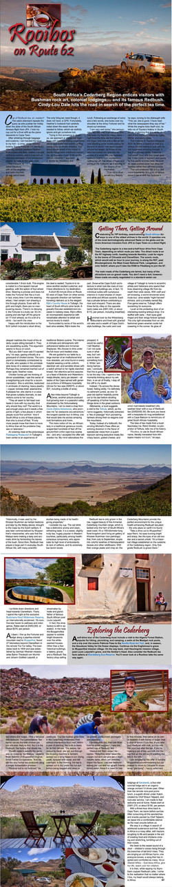 Automotive Traveler, USA - Rooibos Tea Safari