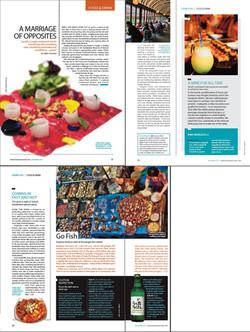 Hemispheres Inflight, USA - Korea Food Drink