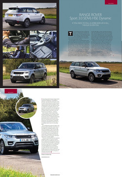 Aspect County, UK - Range Rover