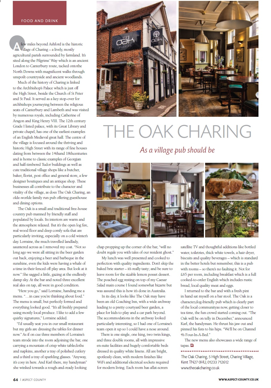 Aspect County, UK - The Oak Charing