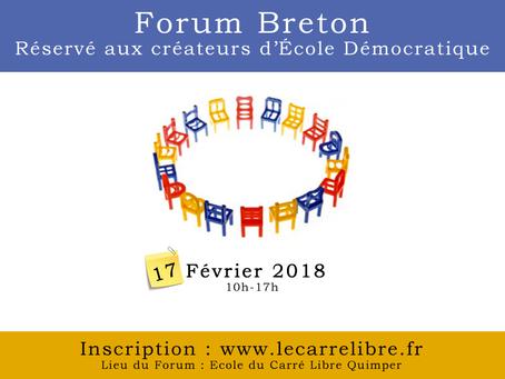 Forum Breton des écoles démocratiques