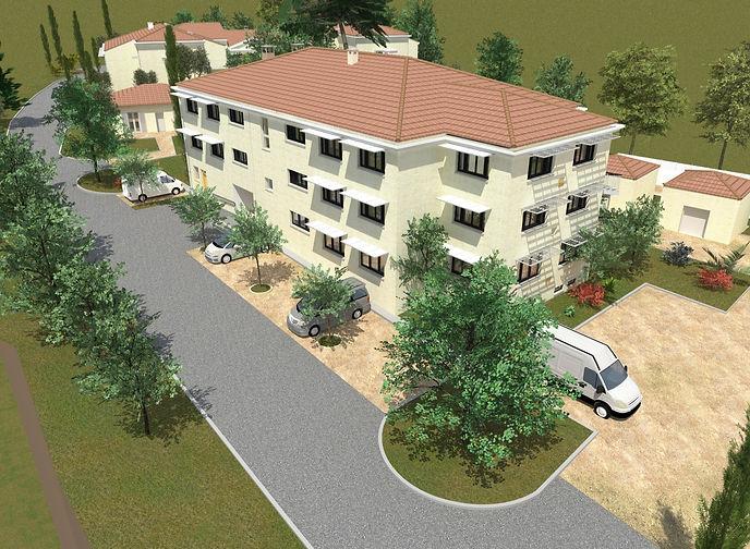 Conception d'une Maison d'Accueil Spécialisée à Grasse collaboration avec l'ADAPEI-AM