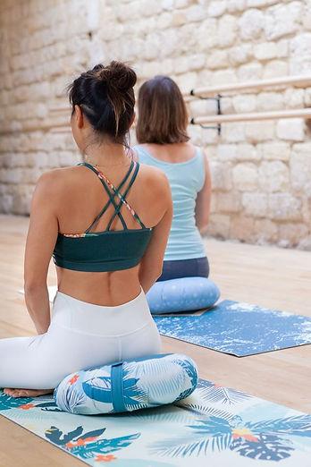 Laurence Pinsard professeure de yoga à Om Sweet Om Yoga Bordeaux