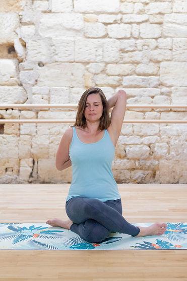 Laurence Pinsard, professeure de yoga