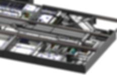 Maquette 3D du projet de relogement des Services Techniques de la ville de Monaco
