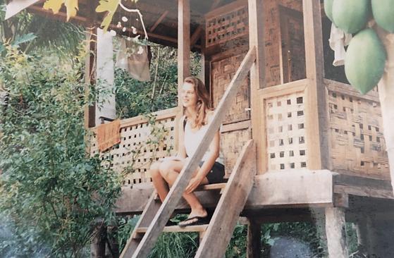 Laurence pinsard en reportagepour le Guide du routard en Asie du Sud-Est