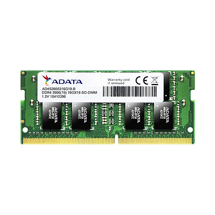 DDR4 4GB PC4-21300 /2666 MHz /1Rx8 /1.2 V /A- DATA / AD4S2666W4G19-S / PORTATIL
