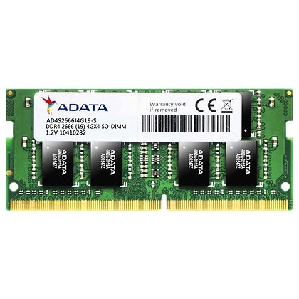 DDR4 4GB PC4-21300 /2666 MHz /1Rx4 /1.2 V ADATA AD4S2666J4G19-S PORTATIL
