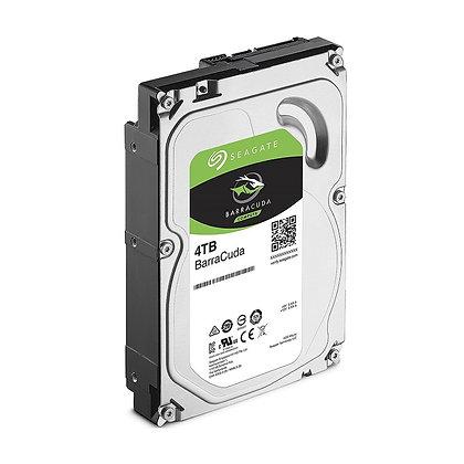 DISCO DURO SEAGATE BARRACUDA 4TB /3.5 INCH /5.4K SATA 6 Gb 256 MB ST4000DM004