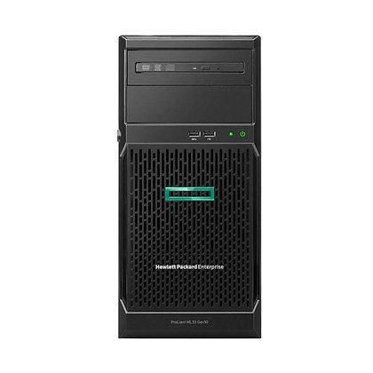SERVIDOR HP PROLIANT  ML30 /G10  XEON E3 2124 16GB 1TB HDD