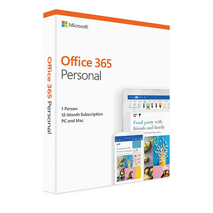 LICENCIA MICROSOFT OFFICE 365 PERSONAL  1 USER ESD CLOUD QQ2-00008 E