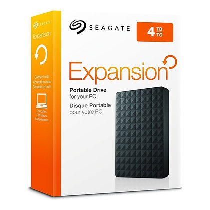DISCO DURO EXTERNO SEAGATE EXPANSION 4TB STEA4000400