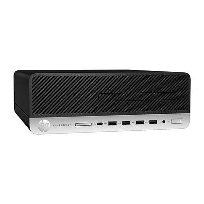 COMPUTADOR HP 705 G5 RYZEN 5 3400G 8GB 1TB HDD W10PRO+LED 21.5