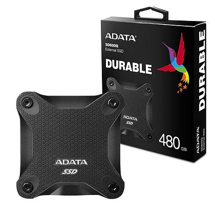DISCO DURO SOLIDO EXTERNO ADATA 480GB SSD SD600Q