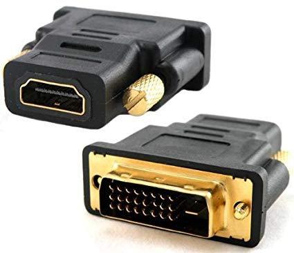 ADAPTADOR AOC DVI-D MALE TO HDMI FEMALE