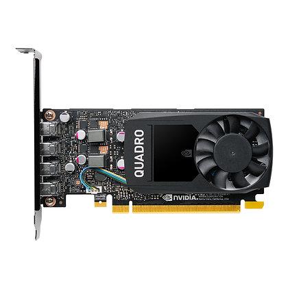 TARJETA DE VIDEO PNY NVIDIA QUADRO P1000 4 GB DDR5