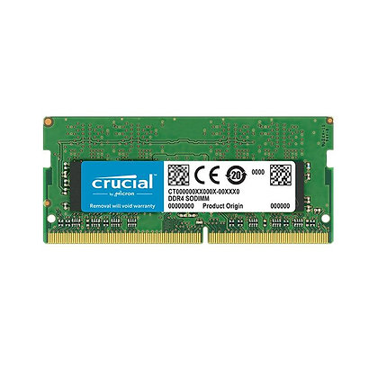 DDR4 8GB PC4-25600 3200 MHz 1.2V 1Rx8 CRUCIAL CT8G4SFS832A PORTATIL