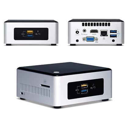 COMPUTADOR INTEL NUC BOXNUC5I3RYHS CI3 5005U 4GB - 1TB - 250GB SSD LINUX