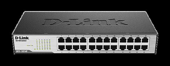 SWICHT D/LINK DES-1024D 24 PUERTOS 10/100 MBPS