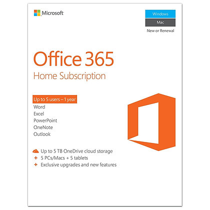 OFFICE 365 HOGAR 5 USER ESD 6GQ-00088/E