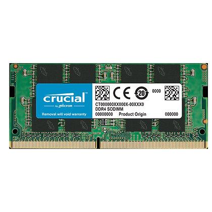DDR4 16GB PC4-225600 /3200 MHz 1.2V /2Rx8 /CRUCIAL /CT16G4SFD832A/PORTATIL