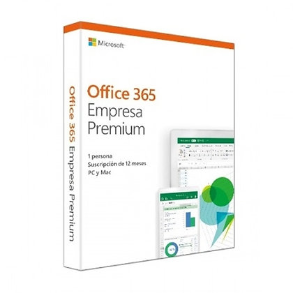 LICENCIA MICROSOFT OFFICE 365 BUSINESS PREMIUM 1 YEAR 1 USER