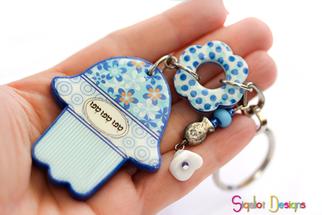 מחזיק מפתחות עם שם בהתאמה אישית- דניאלה