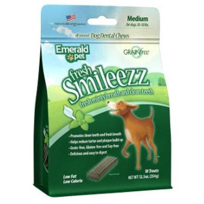Emerald Pet Fresh Smileezz Dental Treats